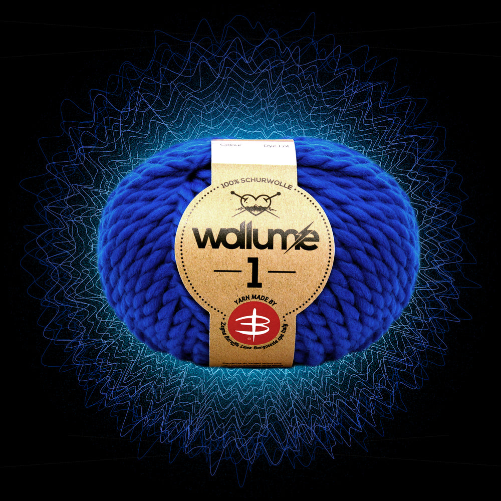 Wollume1 Pure Virgin Wool – Royal-Blue