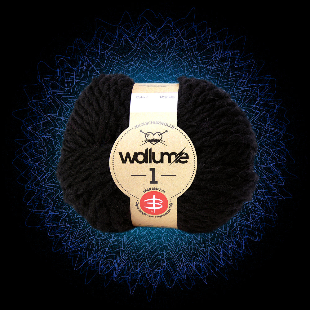 Wollume1 Pure Virgin Wool – Black