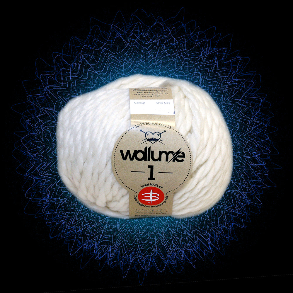 Wollume1 Pure Virgin Wool – White