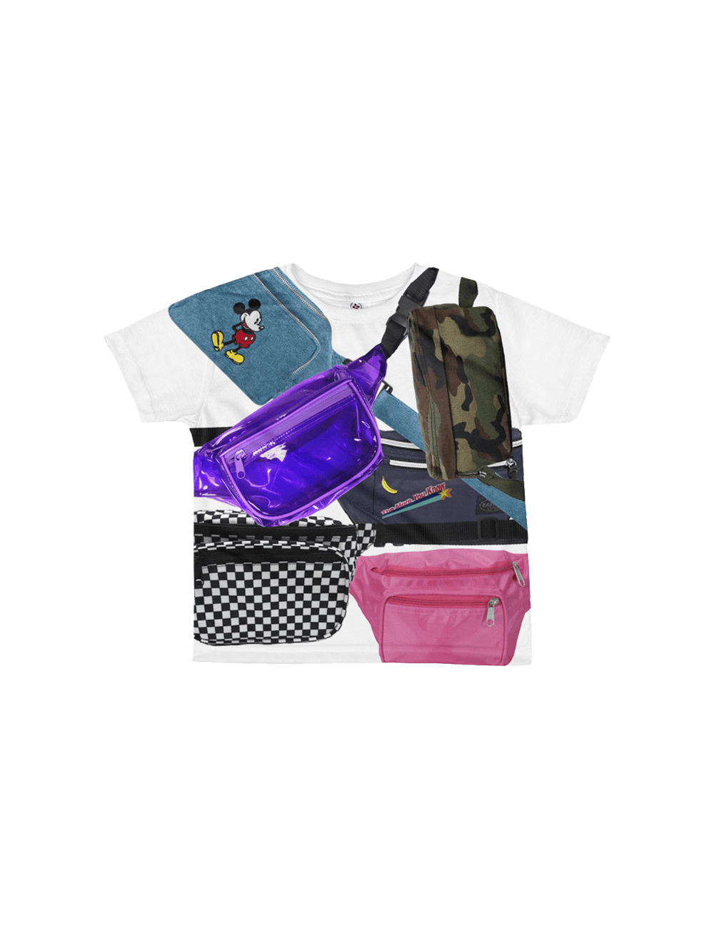 Fanny Pack Heaven Kids Tee