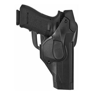 Professional polymer injection molded holster