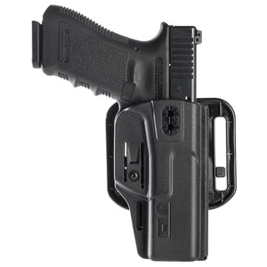 Hybrid injection polymer multi uses holster