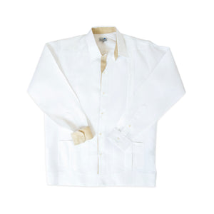 Guayabera 5 Tablones Natural