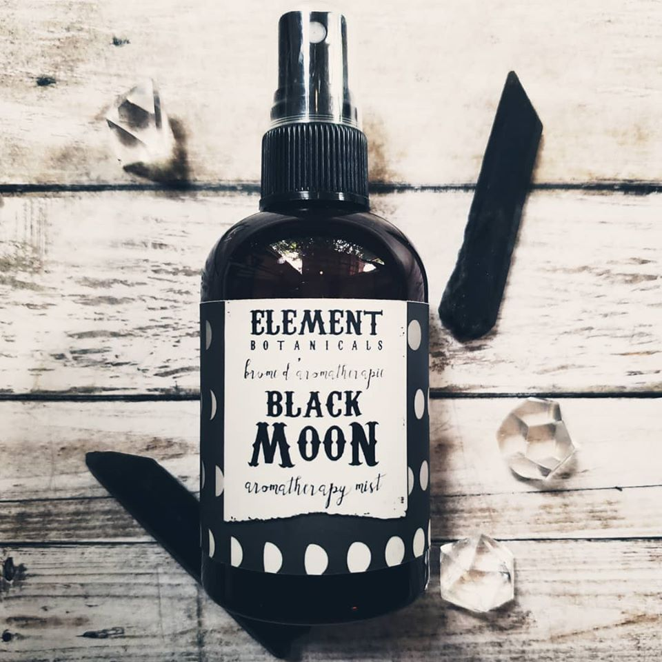 Element Botanicals Aromatherapy Mists - Black Moon 118ml