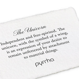 Pyrrha - The Unicorn - Silver or Bronze
