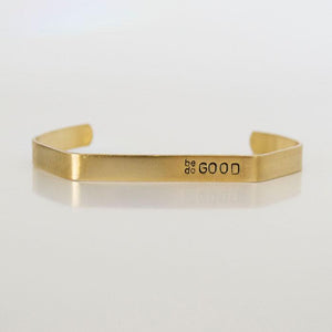 Grey Theory Mill - Cuff Bracelet Be Good/ Do Good