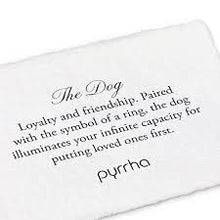 Pyrrha - The Dog - Silver