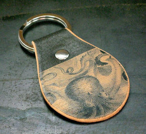 Leather Key Fob - Flight Path Designs