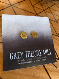 Grey Theory Mill - Not Today Satan