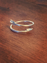 Kala Ring Wrap Arrow - Silver