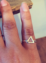 Kala Ring Triangle - Silver