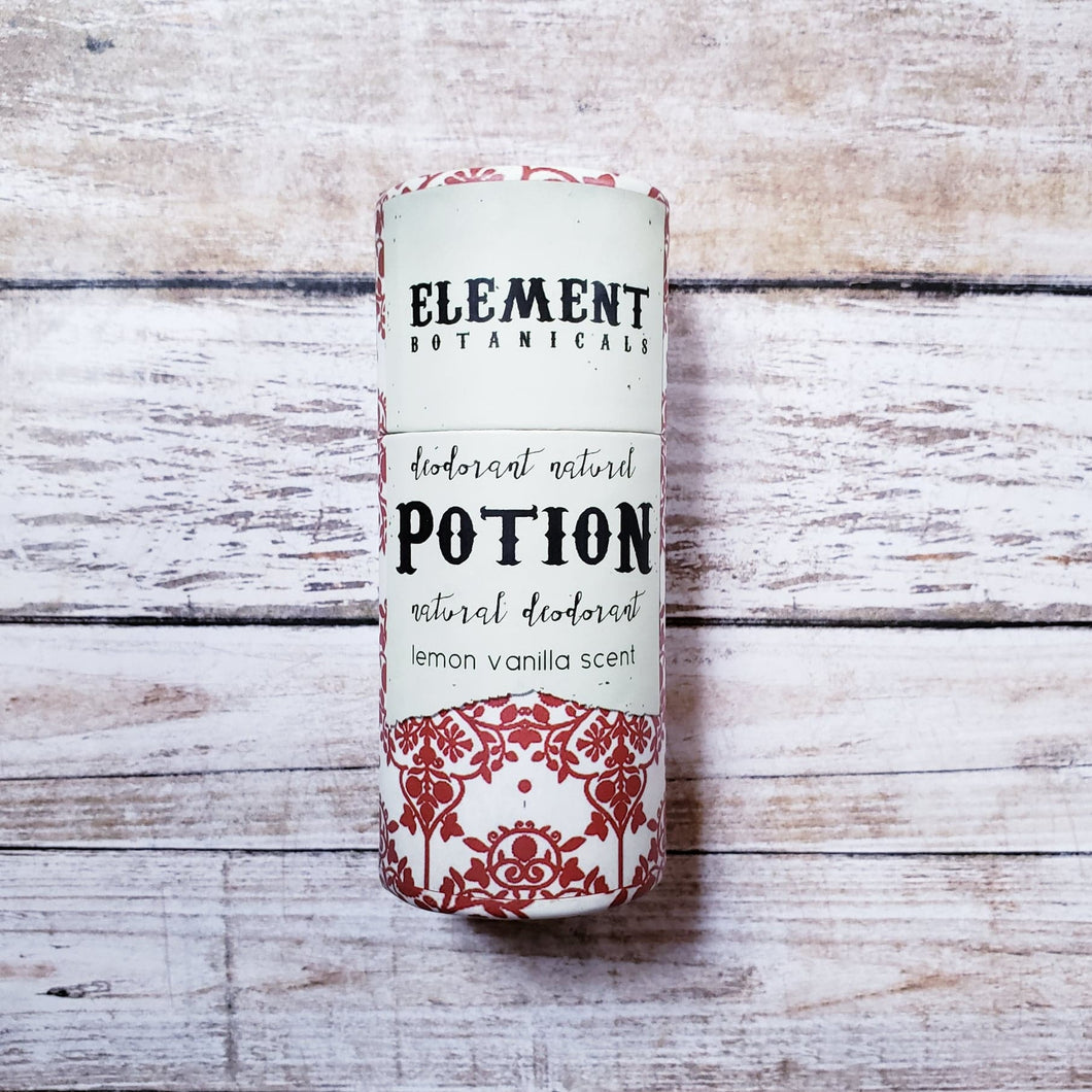 Element Botanicals Natural Deodorant - Potion Scent