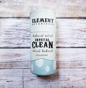 Element Botanicals Natural Deodorant - Clean - Unscented