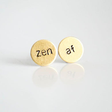 Grey Theory Mill Studs - Zen AF circles