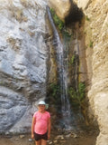 "She said: ""I never got to touch a waterfall before!"""