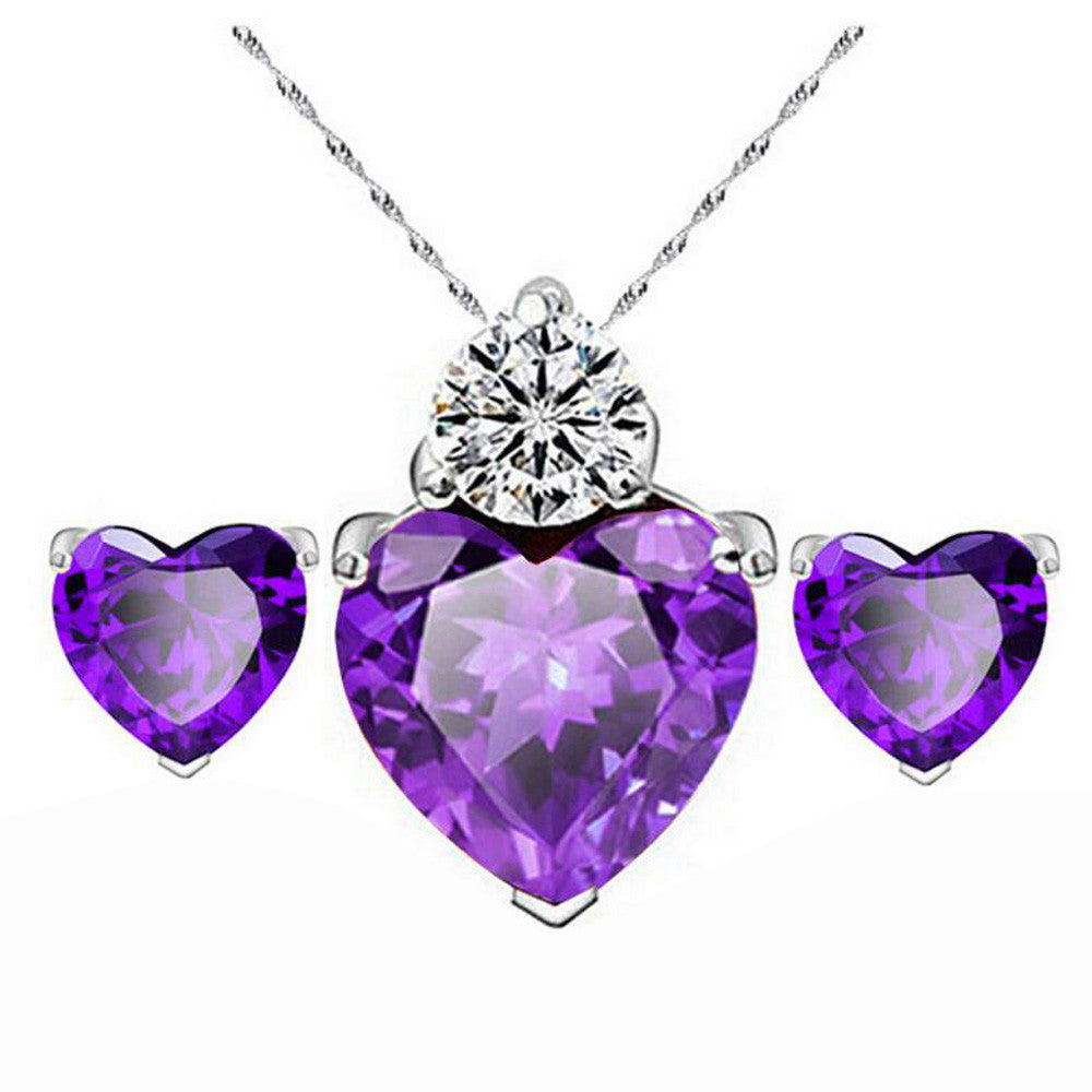 Heart Necklace Set - AM Craftworks Studio