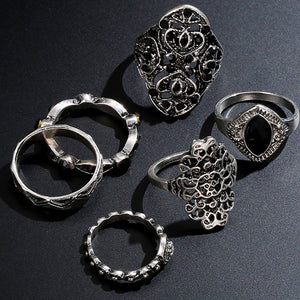 6Pcs/Set Finger Knuckle Rings - AM Craftworks Studio