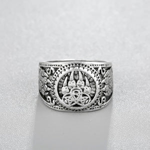 ? Bear Wolf Paw Celtic Ring - AM Craftworks Studio