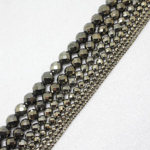 Faceted Pyrite Hematite Ironstone - AM Craftworks Studio