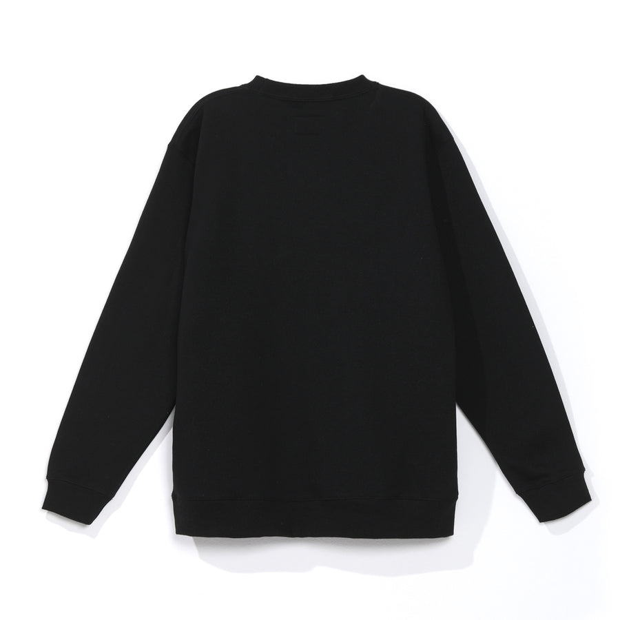 Polerón Ground Negro Crewneck 2021