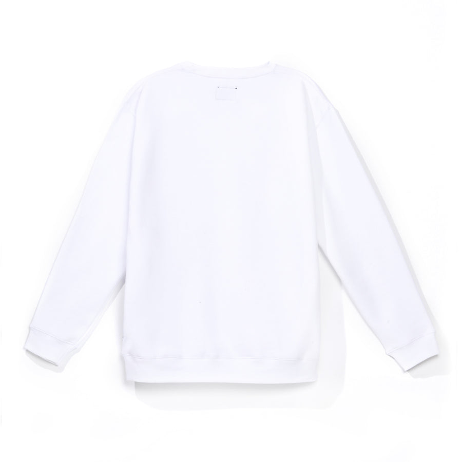 Polerón Ground Blanco Crewneck 2021