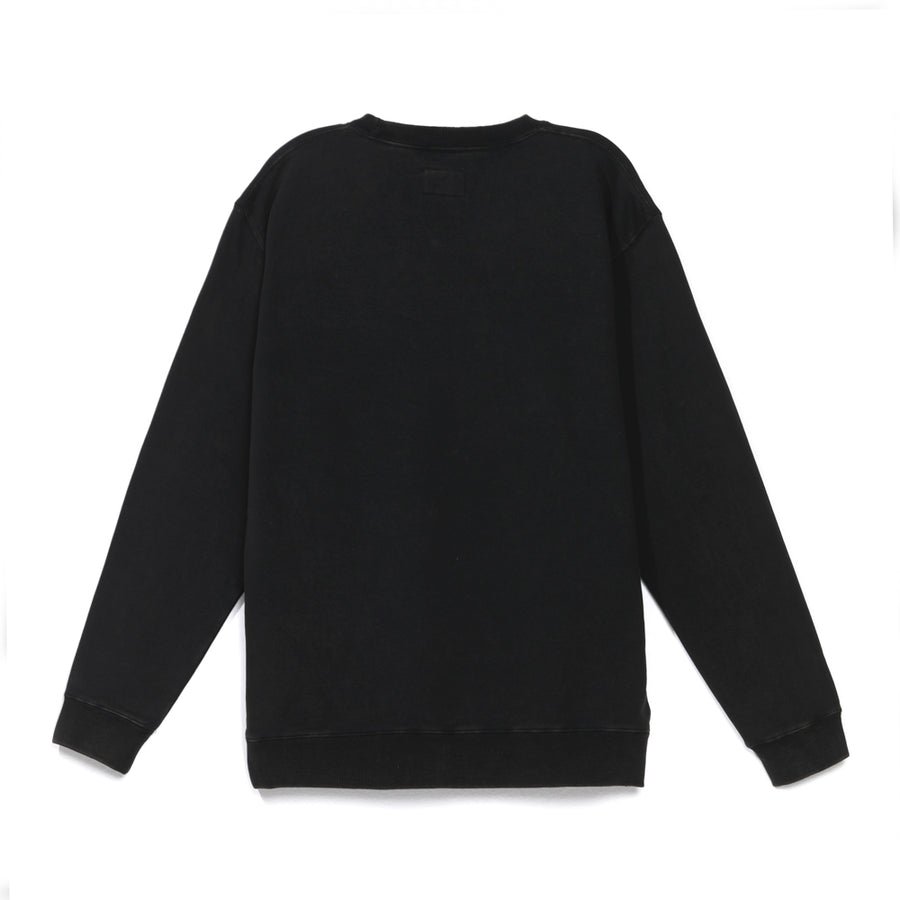 Polerón Ground Washed Black Crewneck 2021
