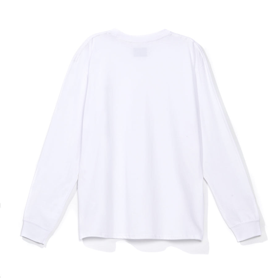 Polera Base Blanca Manga Larga 2021