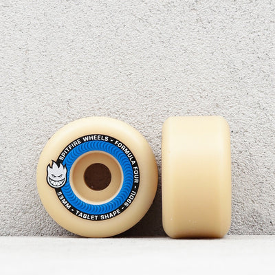 SPITFIRE WHEELS - F4 TABLETS NATURAL 99D - 53 MM