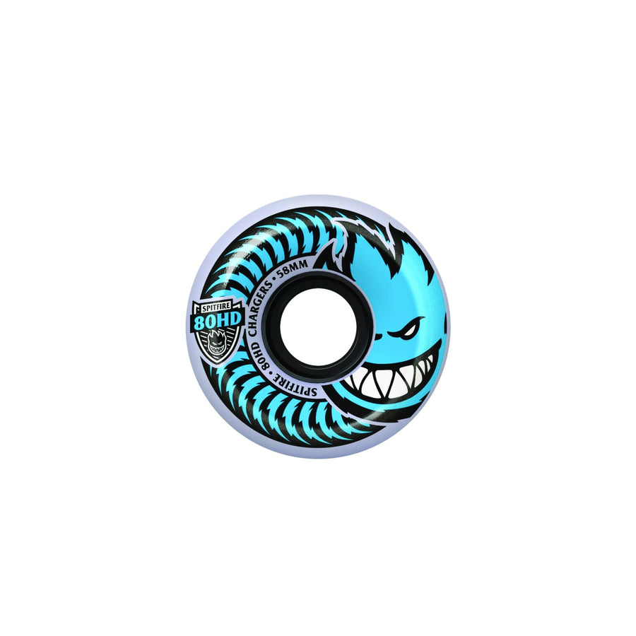 SPITFIRE WHEELS - CHARGER WHEELS - CONICAL SHAPE 80D - 58 MM