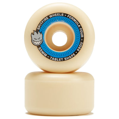 SPITFIRE WHEELS - F4 TABLETS NATURAL 99D - 55 MM