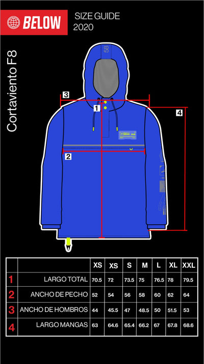 WINDBREAKER F8 ROYAL