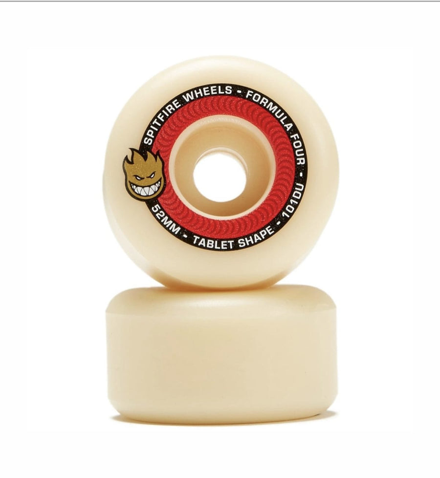 SPITFIRE WHEELS - F4 TABLETS NATURAL101D - 52 MM