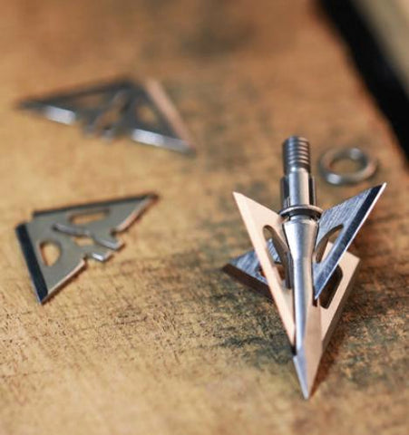 The G5 striker broadhead is built with the quality of gear in mind for an archery hunt