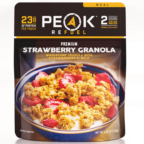 Peak Refuel Strawberry Granola - Ultra x Hunt