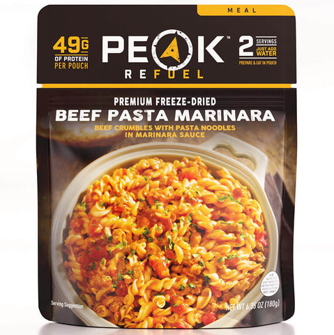 Peak Refuel Beef Pasta Marinara - Ultra x Hunt