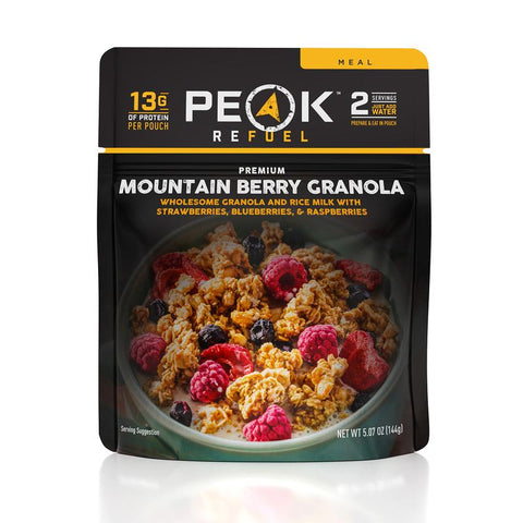 Peak Refuel Mountain Berry Granola - Ultra x Hunt
