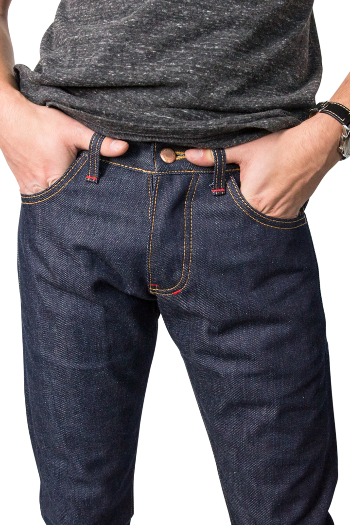 ARCHER CUT MEN'S SELVEDGE JEANS - EVERY*