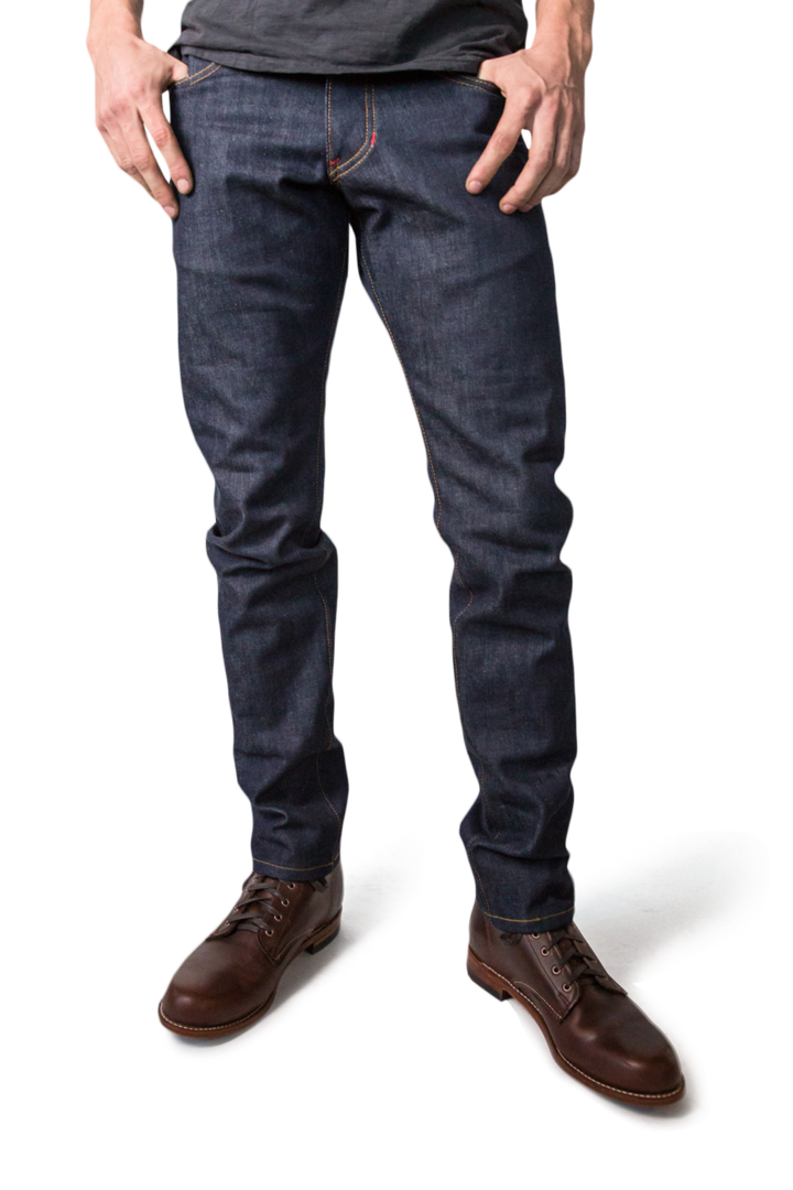 CLASSIC TAPER MEN'S SELVEDGE JEANS - EVERY*
