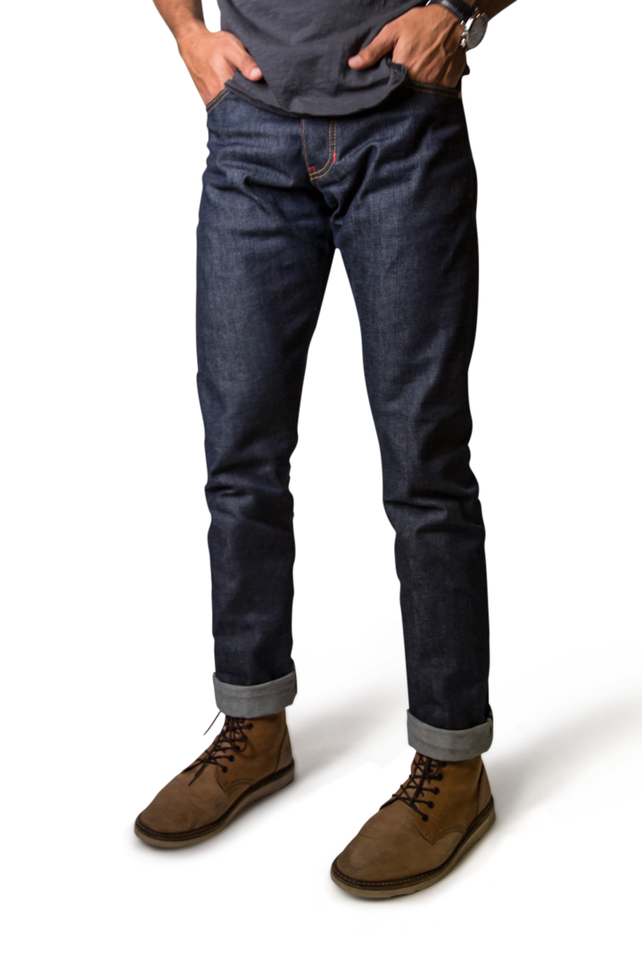 BOXER CUT MEN'S SELVEDGE JEANS - EVERY*
