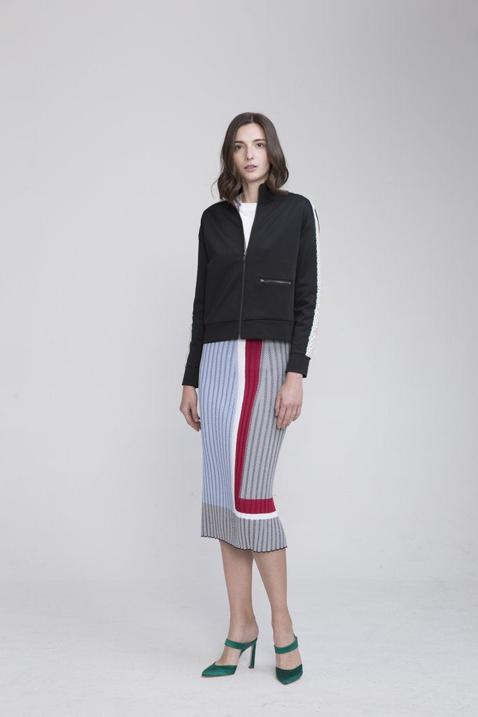 ALISAN POLYESTER TRACK SUIT JACKET - EVERY*