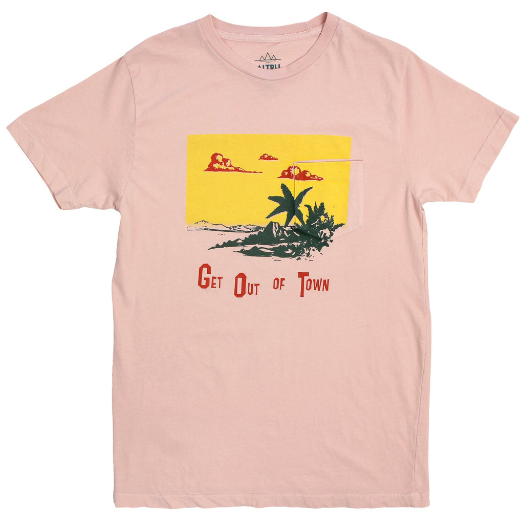 ALTRU APPAREL GET OUT OF TOWN TEE