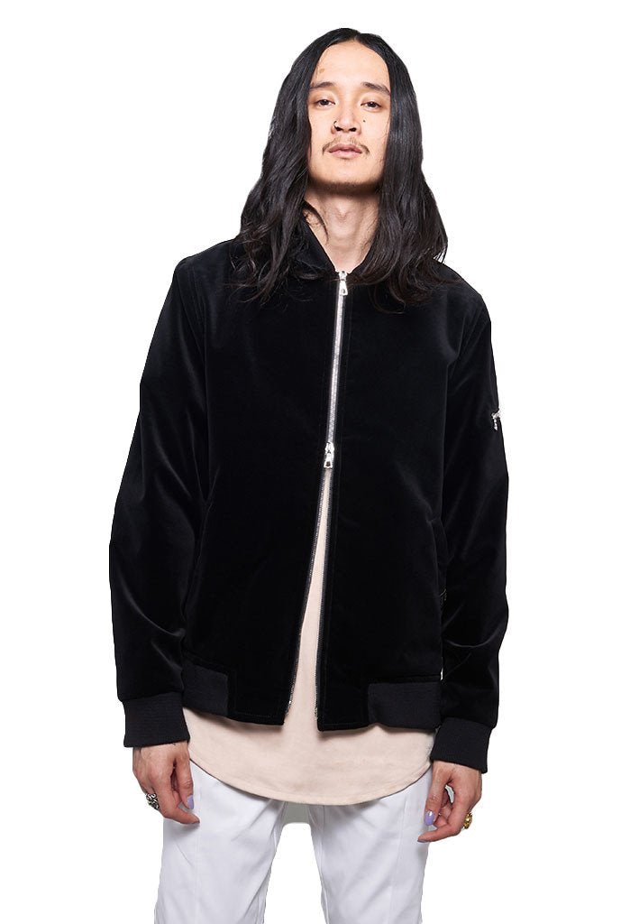 Archer The Fourth Velvet Bomber With Gold Lining - EVERY*