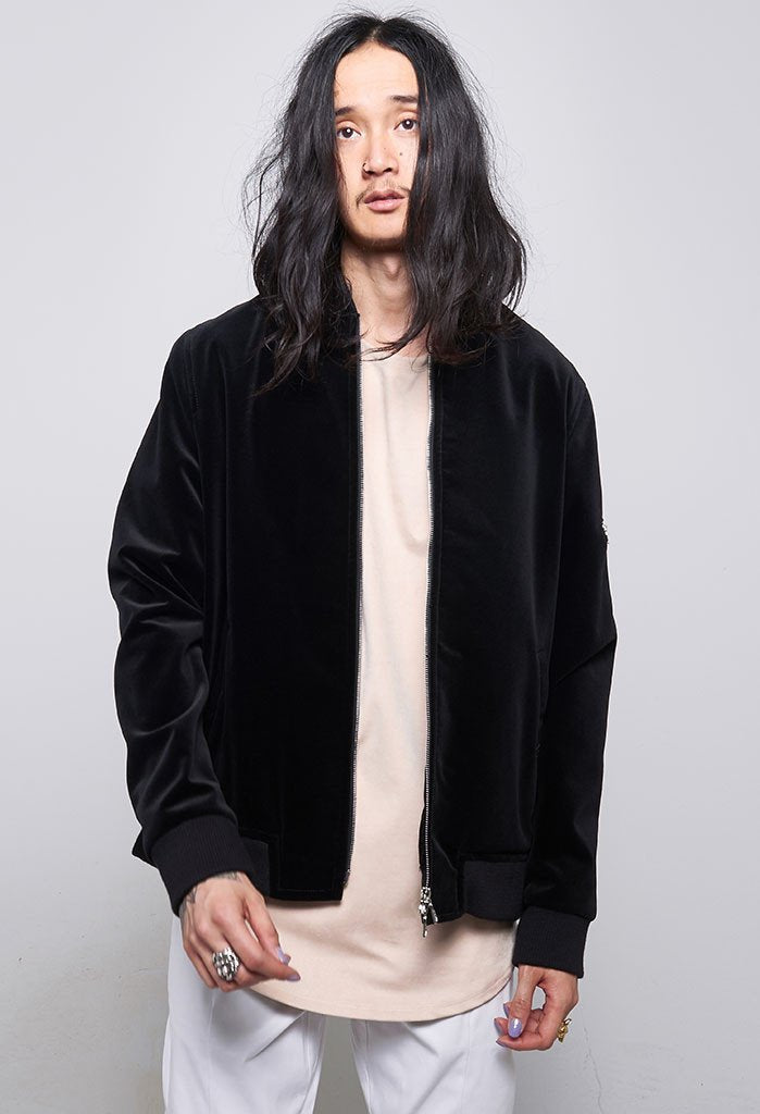 Archer The Fourth Velvet Bomber With Gold Lining