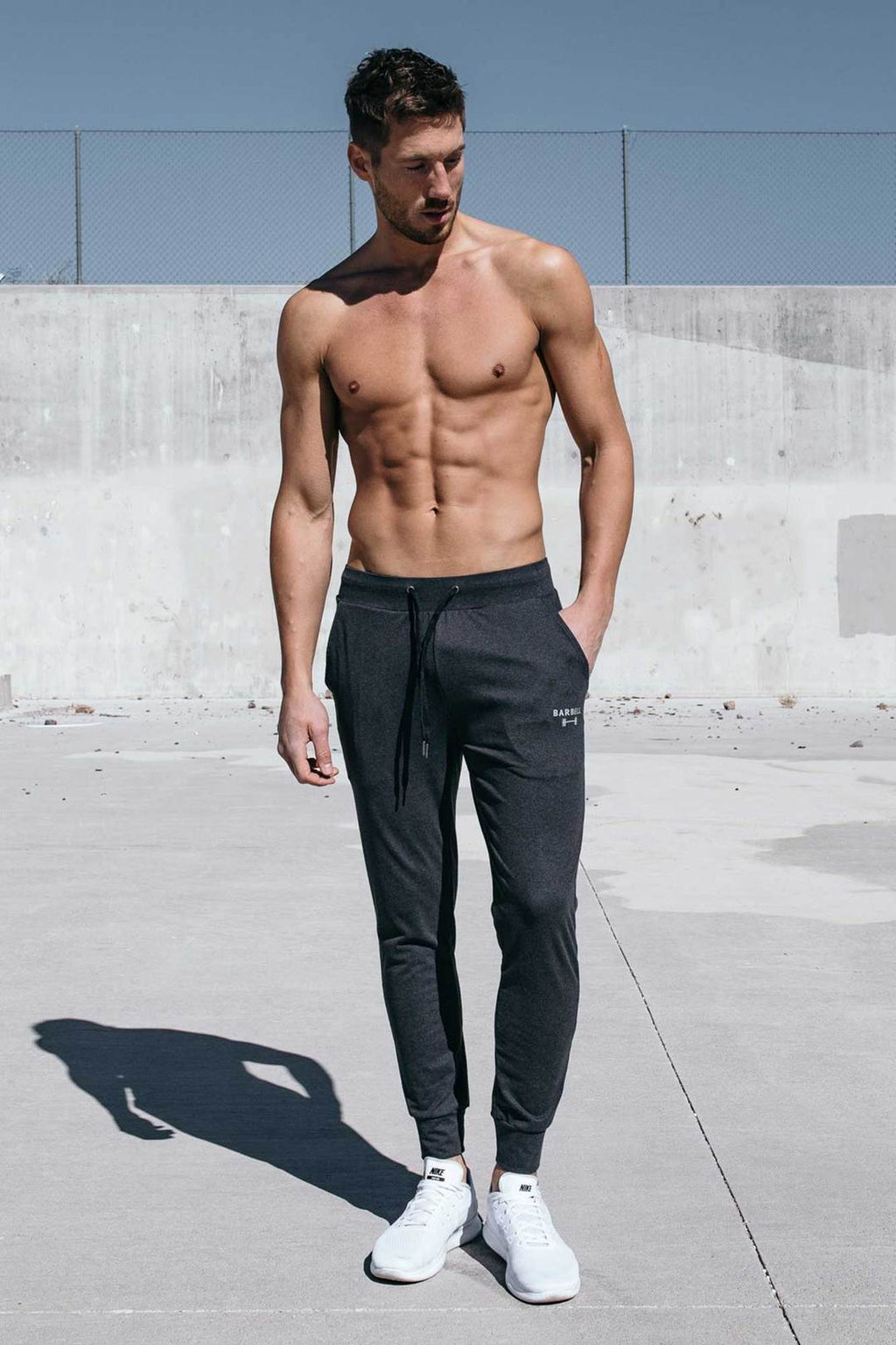 BARBELL APPAREL RECON JOGGER - CHARCOAL