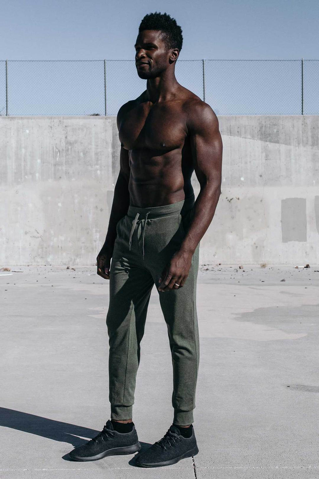 BARBELL APPAREL RECON JOGGER - OLIVE DRAB