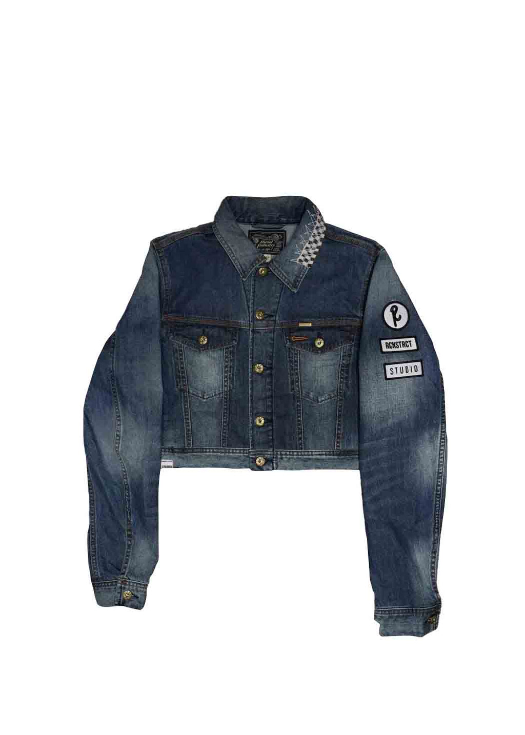 DIESEL X RCNSTRCT Cropped Jean Jacket - EVERY*