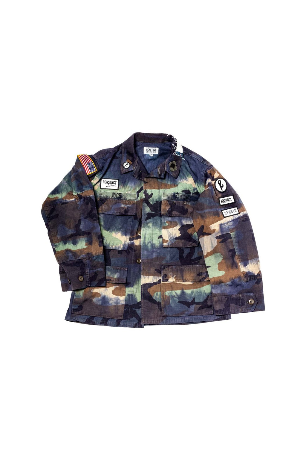 PATCHWORK MILITARY JACKET - EVERY*