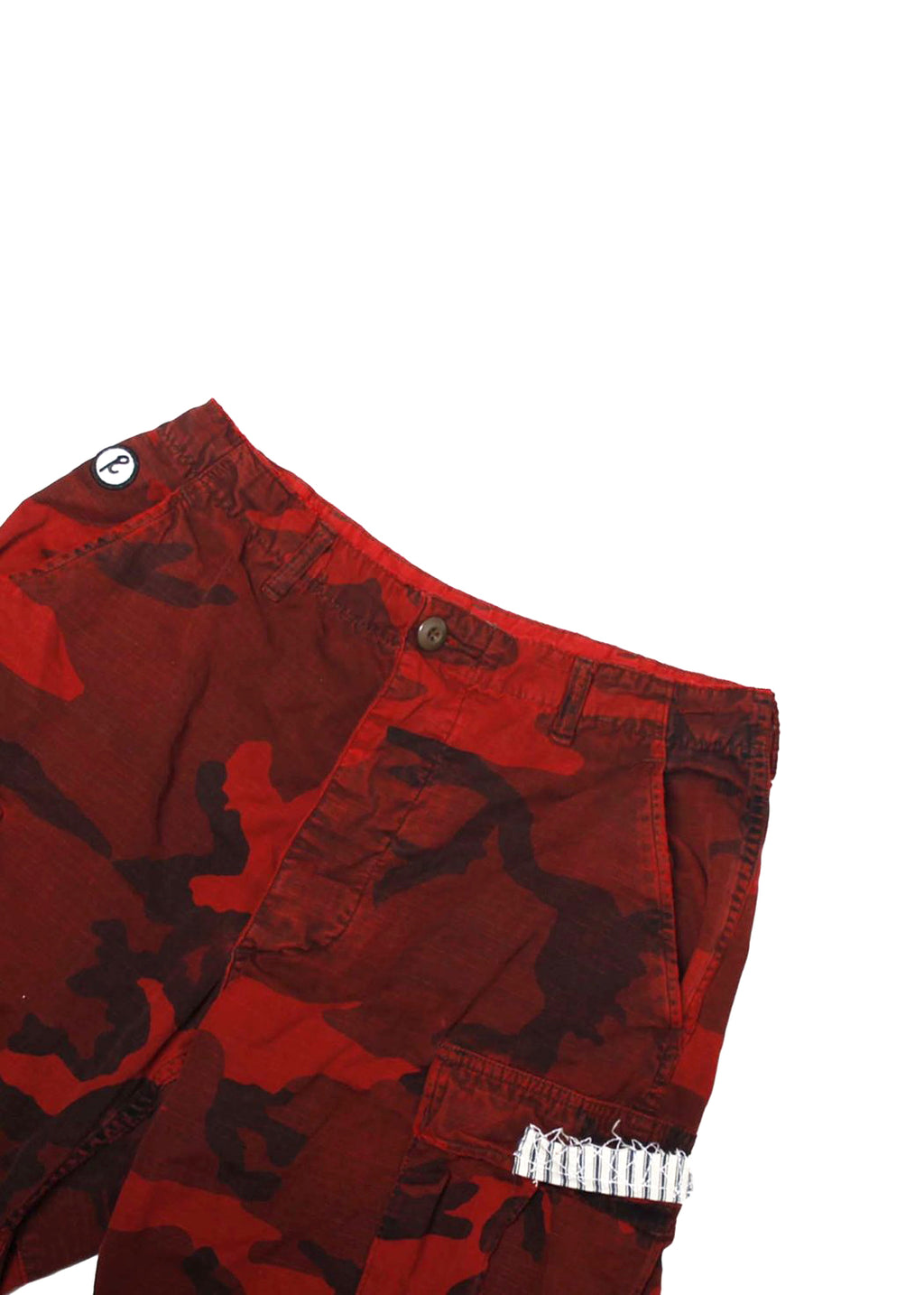 PATCHWORK MILITARY PANT
