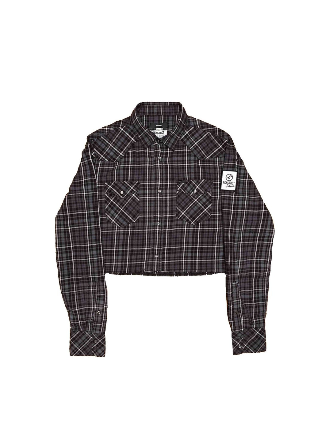 DIESEL X RCNSTRCT Cropped Flannel - EVERY*
