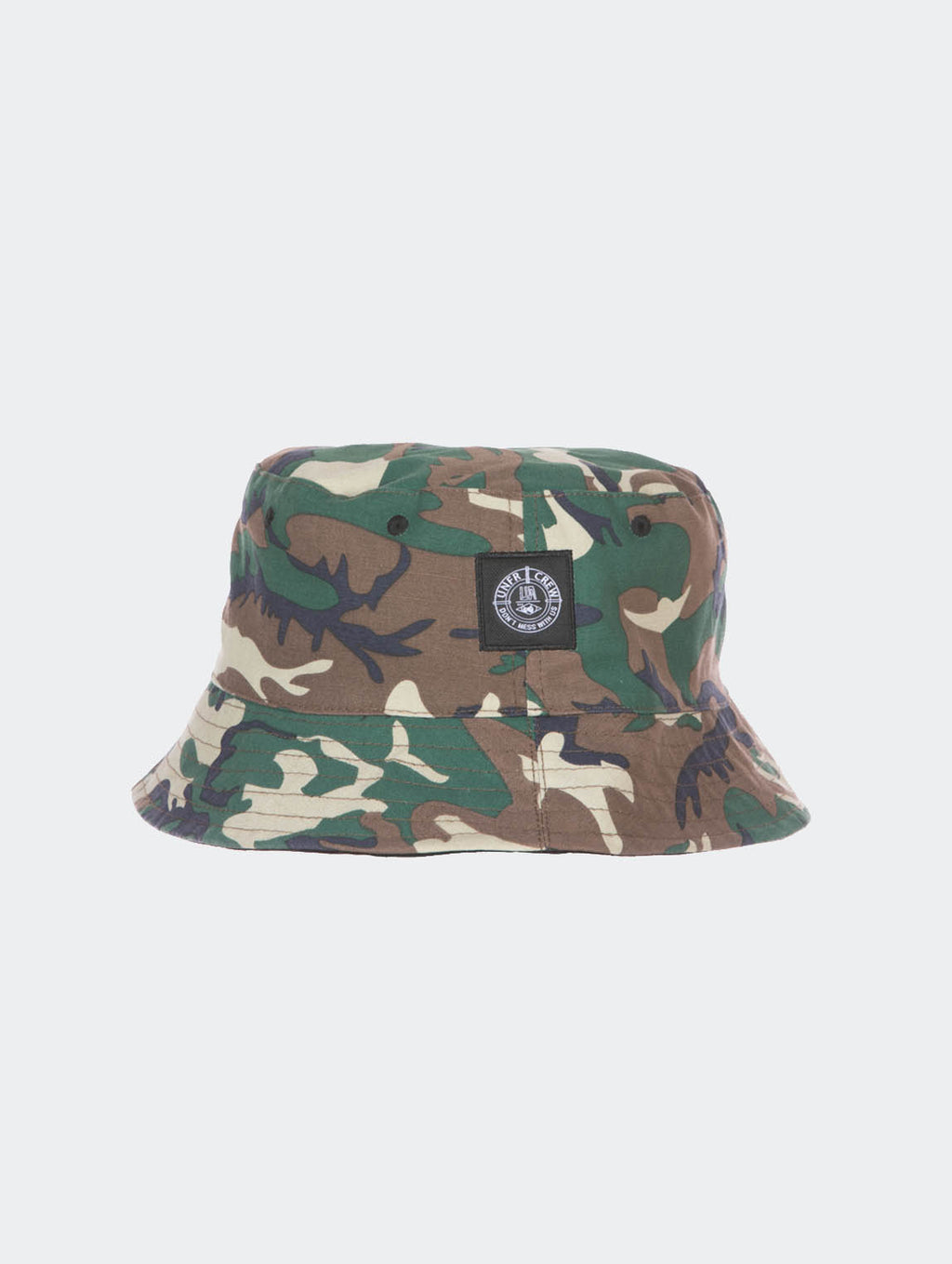 DMWU BUCKET HAT BLACK / CAMO